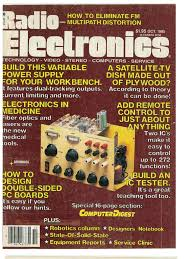 re 1985 10 electronic engineering electricity