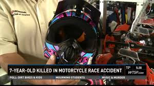 motocross helmets for kids boy killed in dirt bike race despite wearing protective gear youtube
