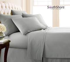 100 Bed Linen Sheets Have You Ever Slept In Linen Sheets A Amazon Com Southshore Fine Linens Extra Deep Pocket Sheet Set
