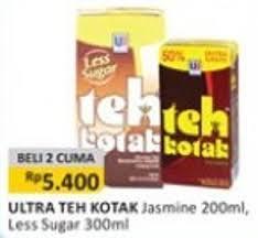 Teh Kotak Ecer promo harga teh kotak terbaru minggu ini katalog alfamart hemat id