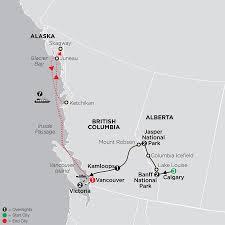 Calgary Alberta Canada Map by Tour Canada Cosmos Vacations