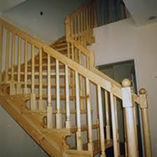 Wooden Banister Railings