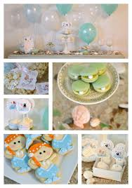 mermaid baby shower and diy diaper cupcakes with huggies