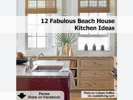 beach house kitchen ideas beach cottage with beautiful coastal