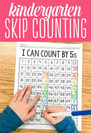 the secret to skip counting in kindergarten