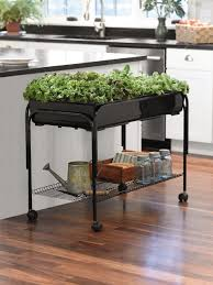Indoor Planters Backyard Indoor Planters Mobile Salad Garden Supply Portable