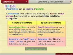 determiners youtube