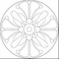 brilliant printable mandalas coloring pages complex with mandala