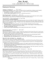 Resume For Sales Medical Sales Manager Resume
