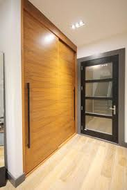 Modern Closet Sliding Doors Walnut Closet Sliding Doors Modern Contemporary Walnut Closet Doors