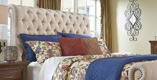 order of pillows on bed bedroom furniture ashley furniture homestore