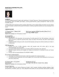 hr generalist resume template professional human resources resume