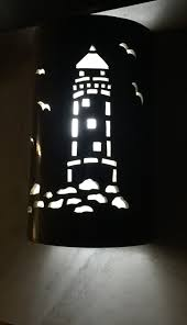 lighthouse wall sconce ceramic wall light nautical