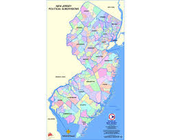 Large Map Of Usa by Maps Of New Jersey State Collection Of Detailed Maps Of New