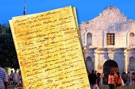 travis u0027 u0027victory or death u0027 letter returns to the alamo on friday