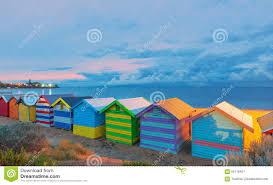 brighton beach houses australia stock photo image 66118427