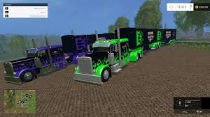 monster jam truck monster jam truck u0026 trailer pack v1 0 farming simulator