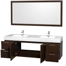 Bathroom Furniture Collection Wyndham Collection Amare 72 Inch Double Bathroom Vanity In
