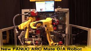 low cost arc welding robot new fanuc arc mate 0ia robot welds a