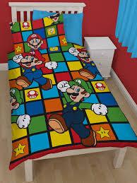 Brothers Bedding Nintendo Super Mario Retro Single Bedding Set Single Duvet Cover