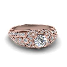 find extensive selection of milgrain engagement rings