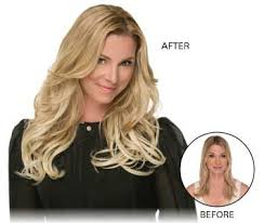 lox hair extensions synthetic hair extensions for thicker hair before after 355x300