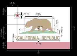 Bear Flag Revolt California Flag California State Flag Bear Flag Ncr Flag Cali