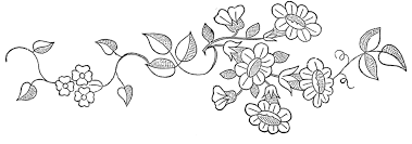 floral embroidery patterns pretty the graphics