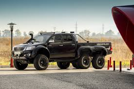 this toyota hilux 6x6 is an affordable off roading monster