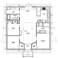 Open Concept House Plans Single Story Open Floor Plans Casa Linda 1 Story Home Floor Plan
