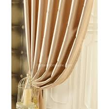 Blackout Curtains Liner Blackout Curtain Liner Solid Thick Light Stripe Pattern Beige