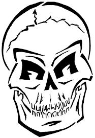 Sugar Skull Pumpkin Carving Patterns by Skull Template Youtuf Com