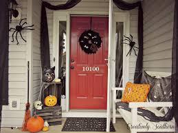 halloween porch decorating ideas arafen
