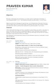 Resume Samples For Administrative Assistant by Best Of Administrative Resume Examples