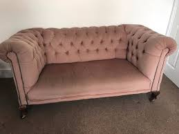 chesterfield sofa beds stunning antique blush pink velvet chesterfield sofa 2 seater