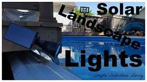 Top Rated Solar Landscape Lights by Best Solar Landscape Lights Youtube