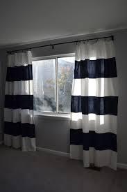 nursery progress diy striped curtain makeover u2013 suddenly inspired