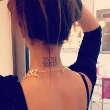 55 attractive back of neck tattoo designs tattoo designs