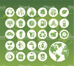 World Map Icon by Eco Green Icons On Digital World Map Stock Vector Art 455440671