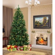 artificial trees ct lights decoration