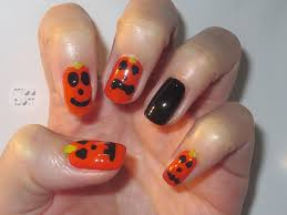 collection cute halloween nails pictures asatan