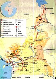map of cameroon map of cameroon industrial resources