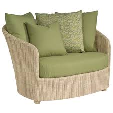 Replacement Cushions For Wicker Patio Furniture - decorating outdoor wicker chair using blue replacement sofa