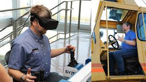 putting my vr learned skills to the test with a real 22 ton crane