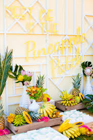 hawaiian theme wedding hawaiian inspired colourful wedding with pineapples cocktails