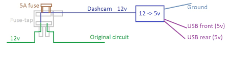 easy method to hardwire any dashcam no experience required
