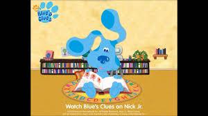 blue u0027s clues theme song original steve youtube
