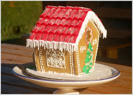 gingerbread house decorating idea roof icicles