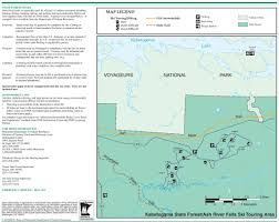 Michigan Burn Permit Map by Kabetogama State Forest Maplets