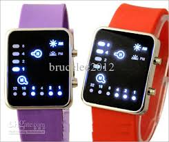 ladies digital bracelet watches images Cheap girls digital watches silicone binary led candy ladies jelly jpg